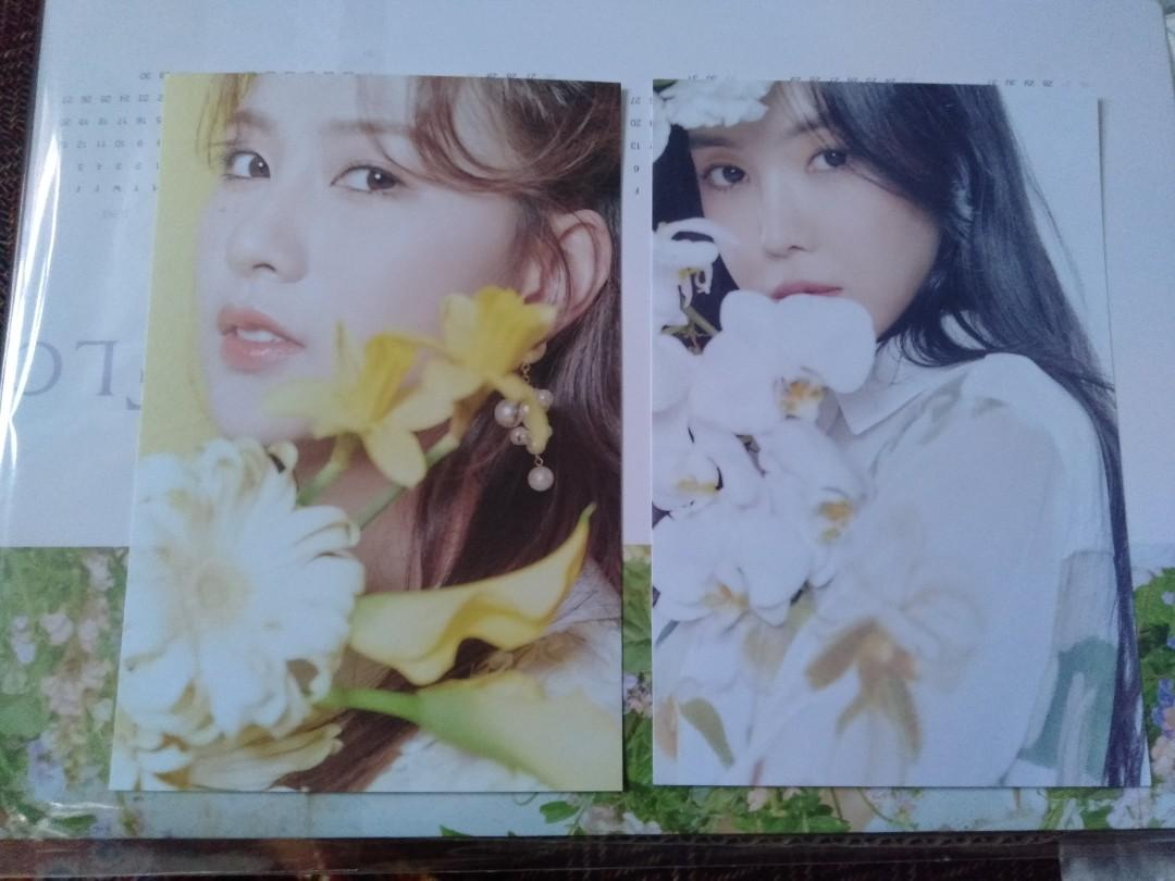 WTS APINK SEASON GREETING FLORAL DAY PHOTOCARD & POSTCARD