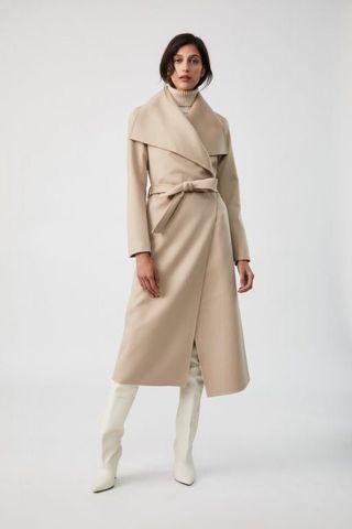 Mendocino wrap coat xs