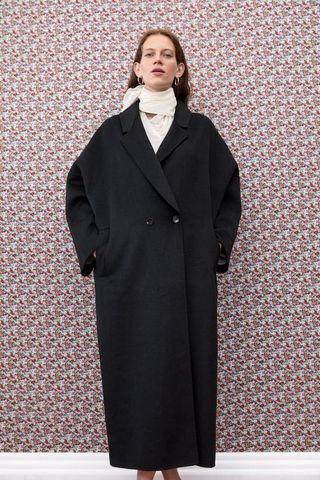 Zara Oversized Longline coat