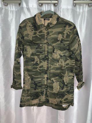 Fashion Nova Army Jacket