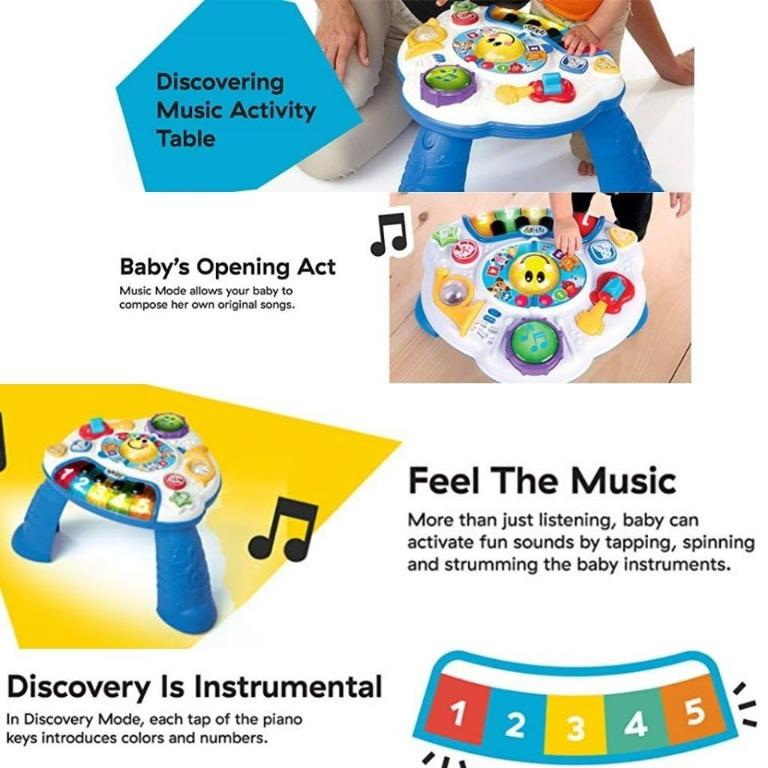 Baby Einstein KEYS TO DISCOVER PIANO Baby Child Musical Toy BNIP