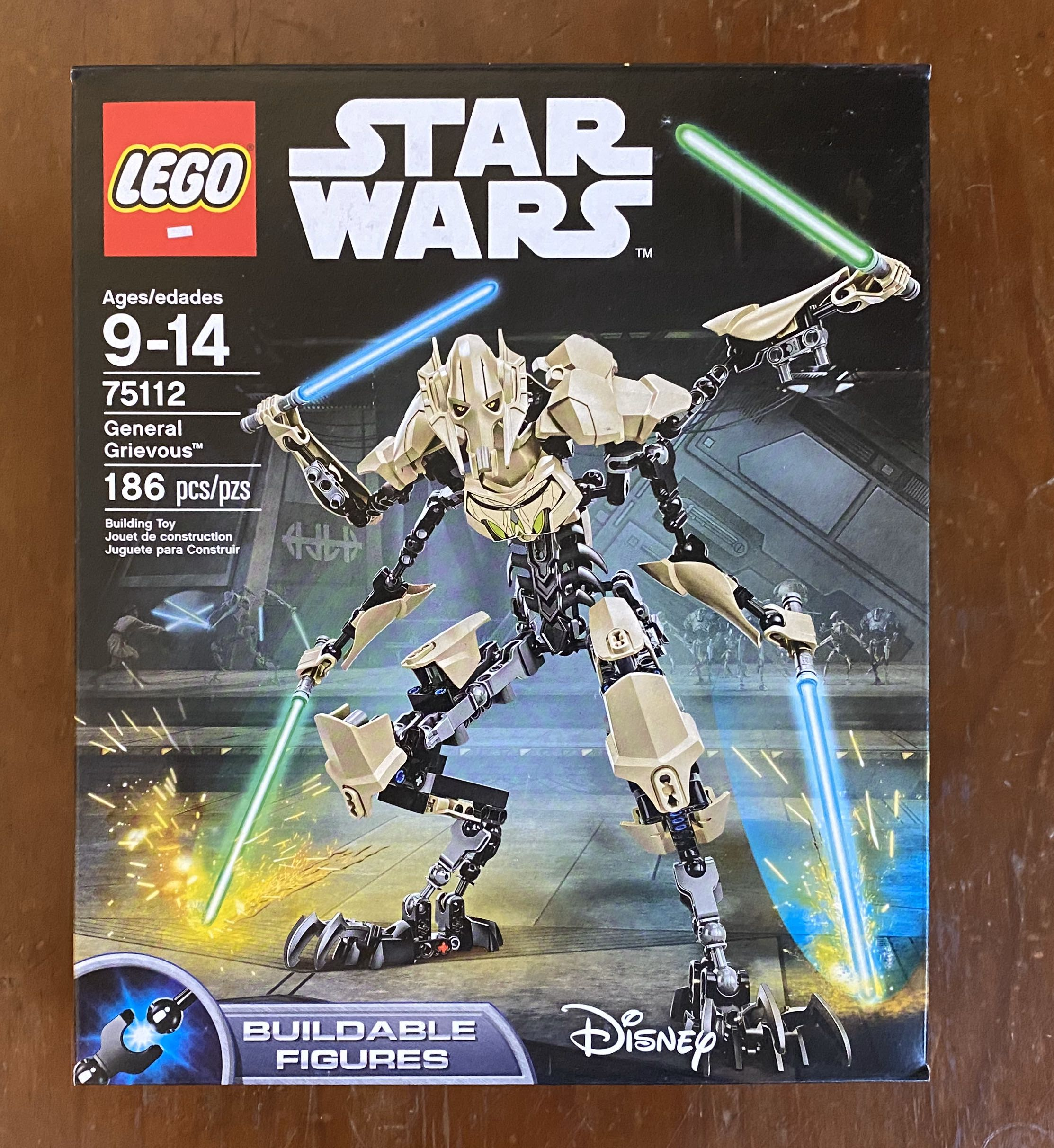 Brand New Star Wars Lego General Grievous 75112 186 Pcs Toys Games Toys On Carousell