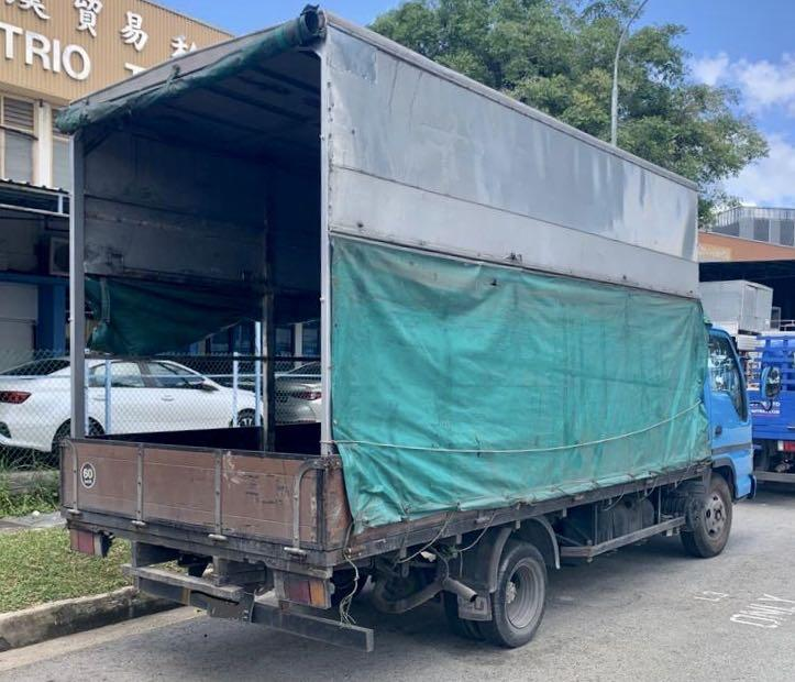 Cheapest 14ft lorry for rent (class 3) - $1000