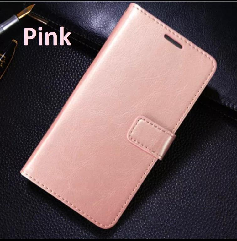 CLASSY & SLEEK DESIGN!! Folio Full Cover Faux PU Leather Case for Apple iPhone