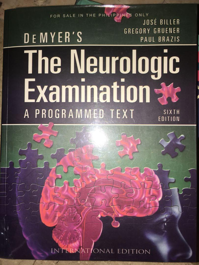 DeMyer's The Neurologic Examination: A Programmed Text 6th Ed