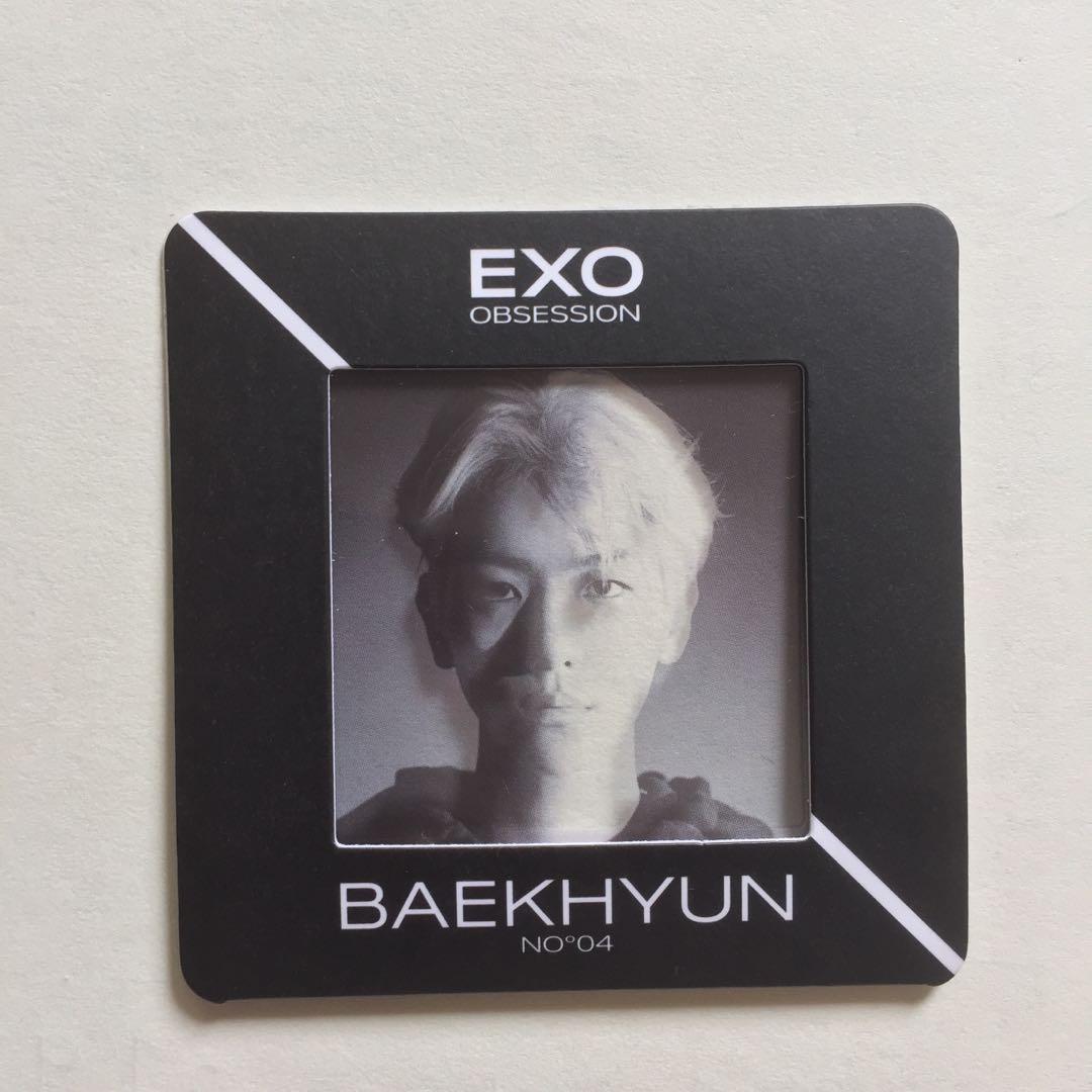 EXO Baekhyun Obesession Photo Slide Official Album
