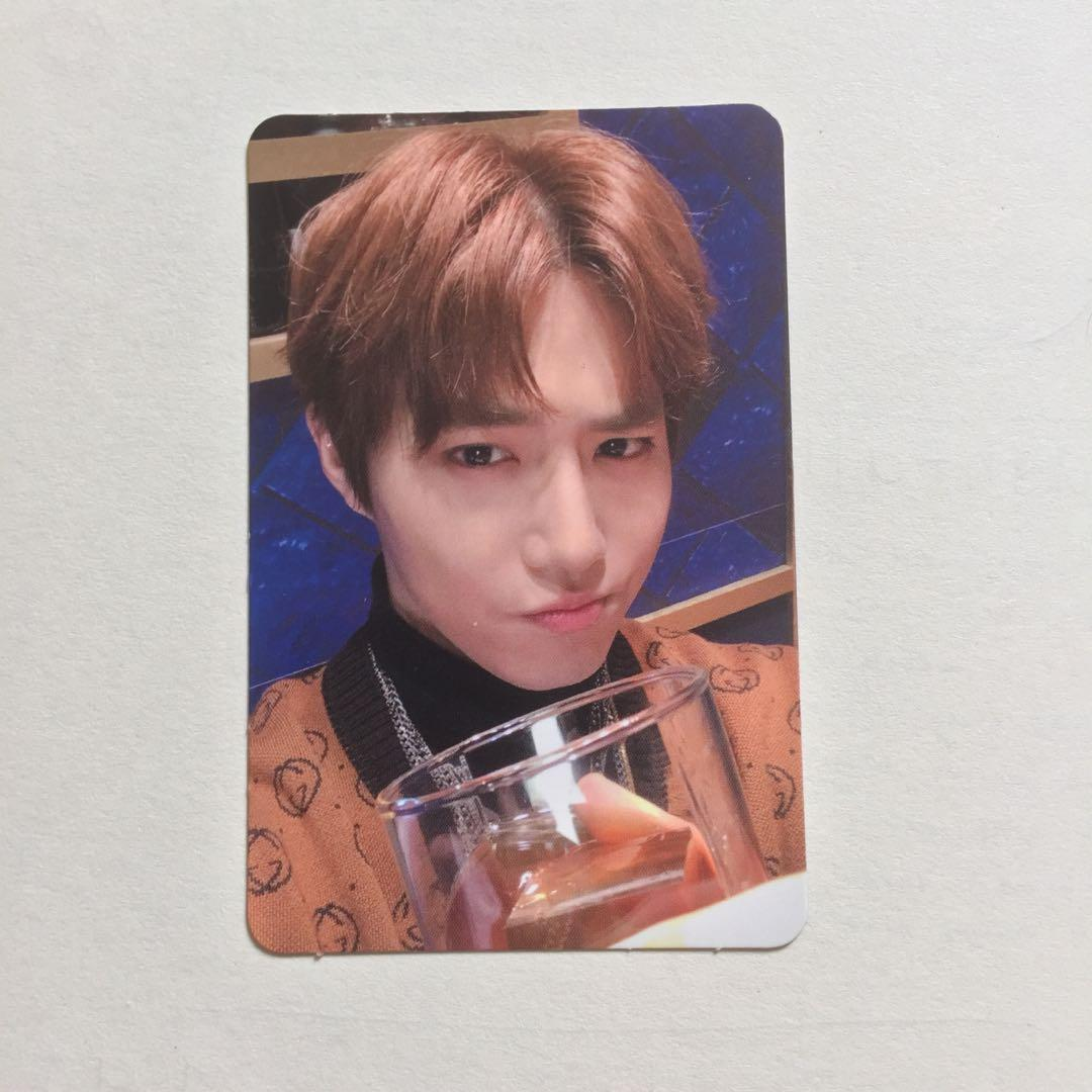 EXO SUHO DMUMT Don't Mess Up My Tempo PC Official Photocard Album