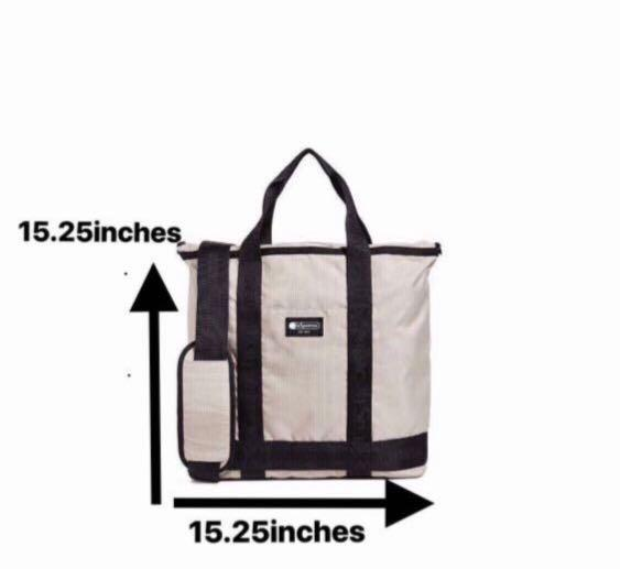 LeSportsac. Montana Top Zip Tote Bag + Sling Bag.  Padded interior. Travertine. AUTHENTIC. GREAT FOR CASUAL USE. GYM USE. OFFICE USE. HAND-LUGGAGE. AUTHENTIC