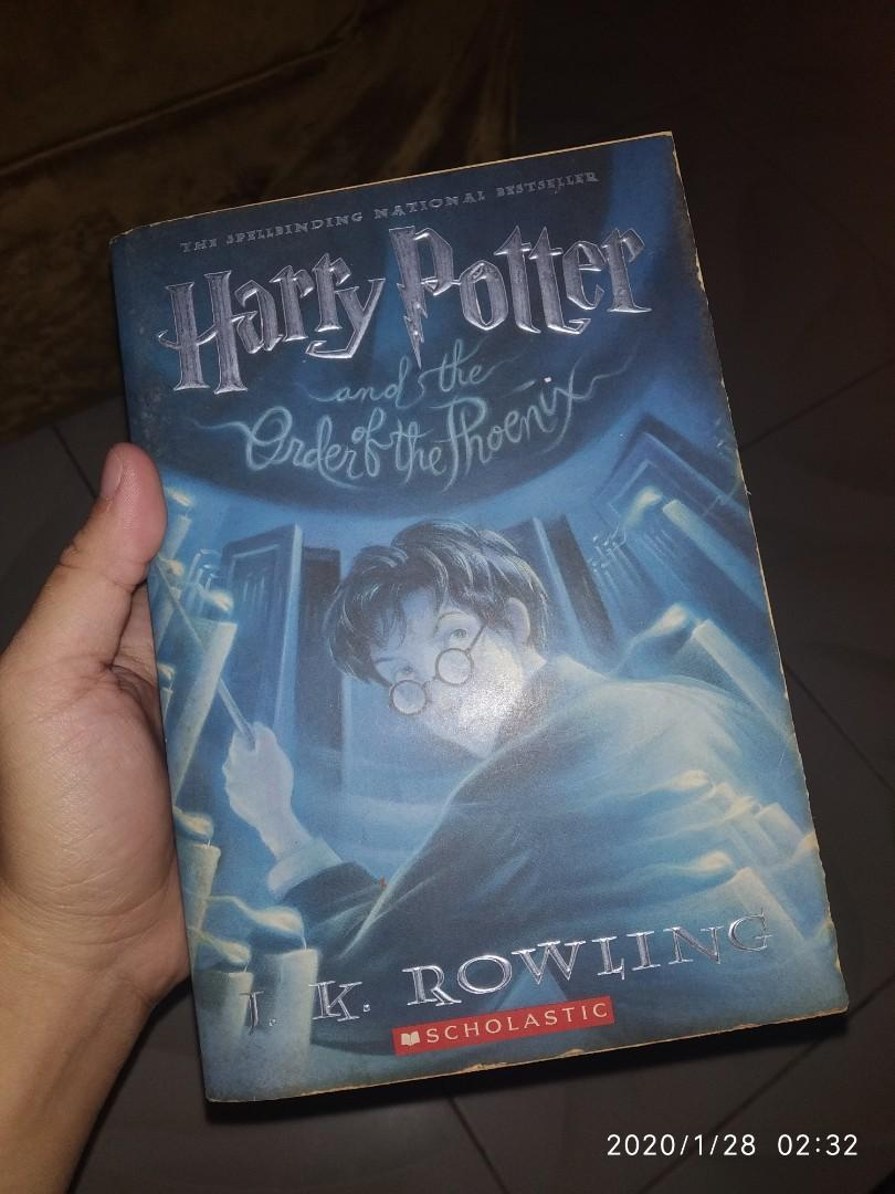 Harry Potter and the Order of the Phoenix (#5) by J.K. Rowling