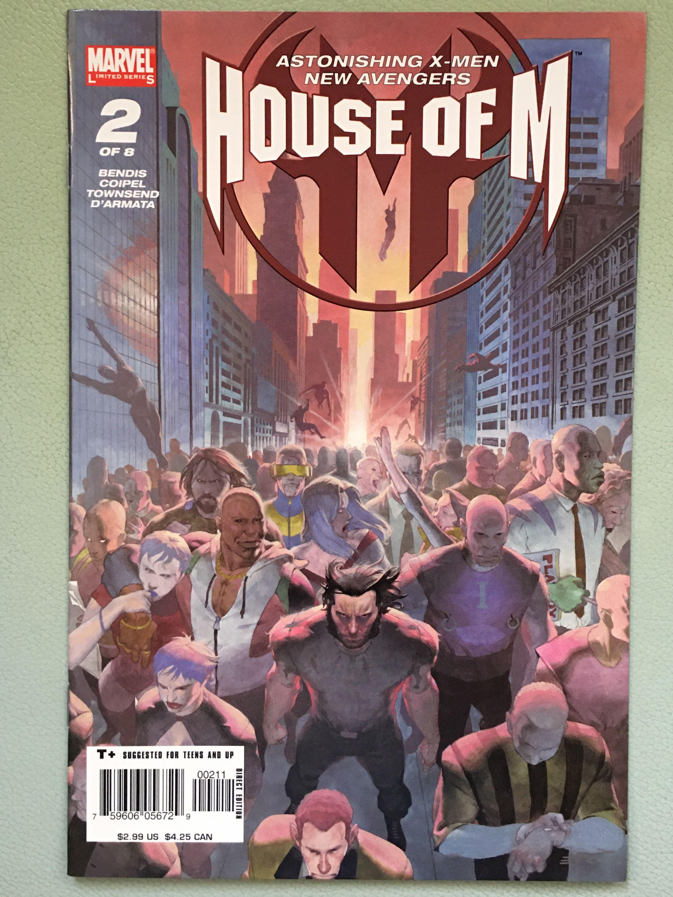HOUSE Of M #2: Astonishing X-Men/New Avengers_Olivier Coipel,art