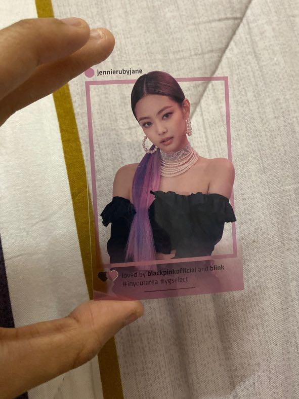 Jennie official pc from Seoul In Your Area tour concert (RARE)