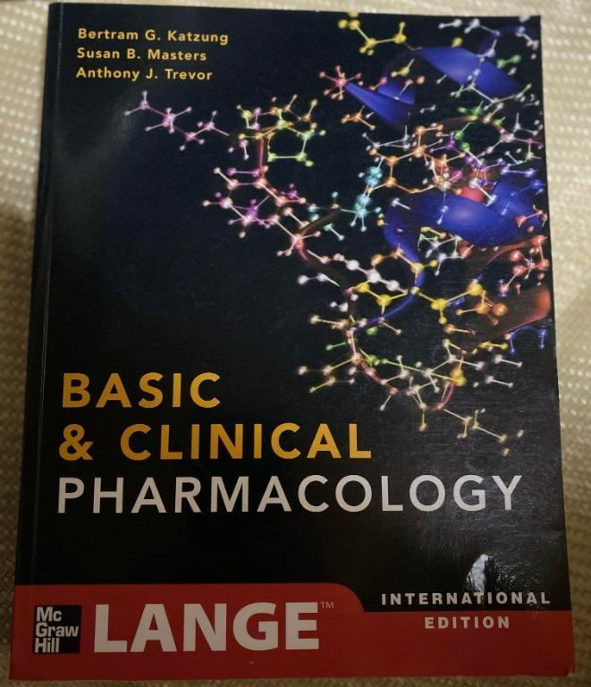SOLD (just waiting for REVIEW) Katzung Basic and Clinical Pharmacology