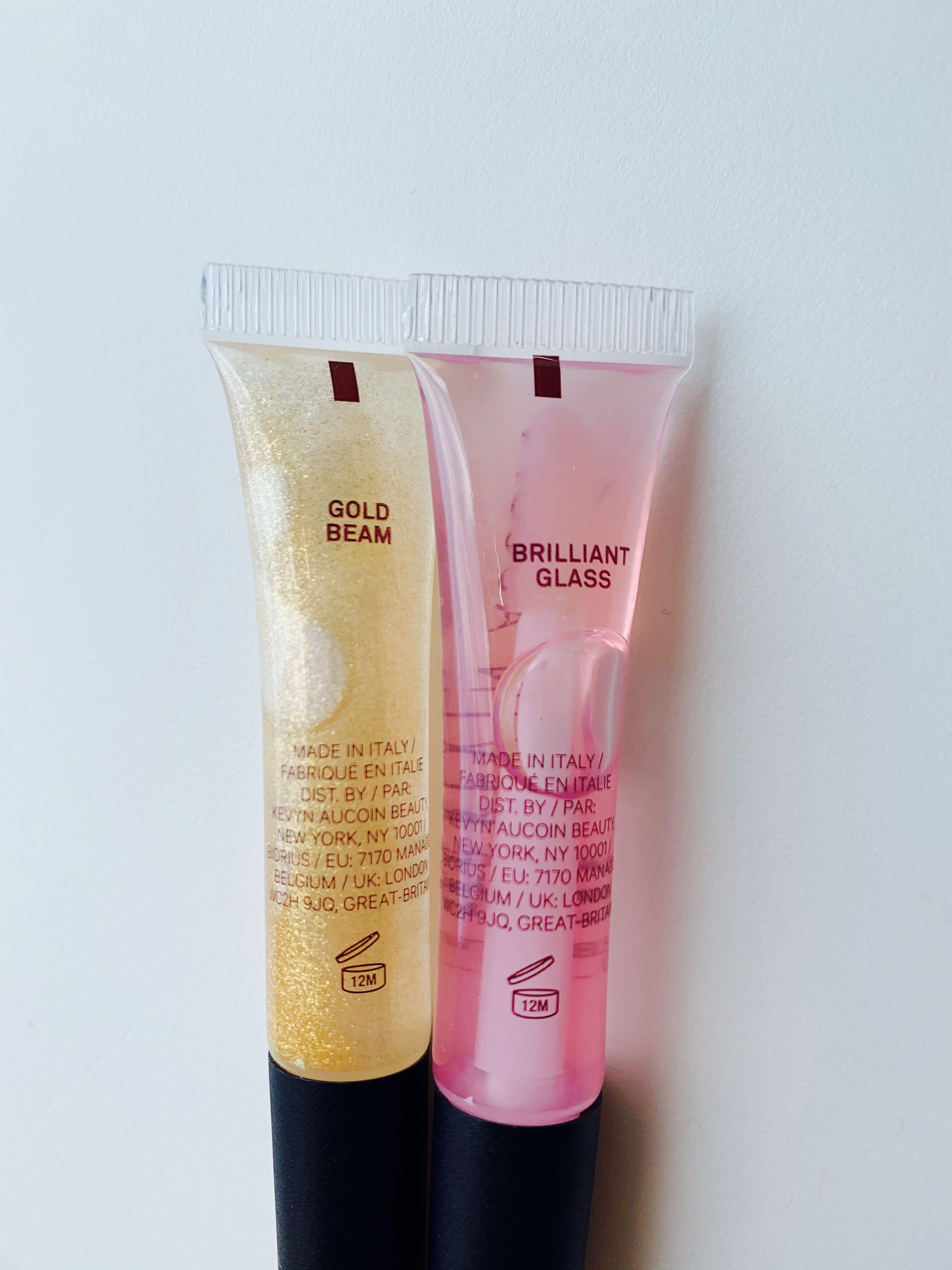 Kevyn Aucoin Glass Glow Lip Gloss in Gold Beam/Brilliant Glass