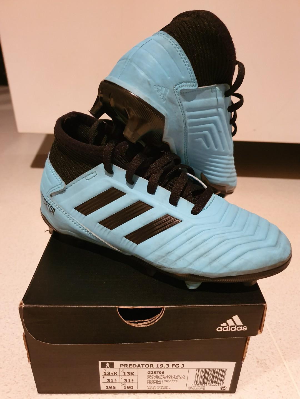 Kids Adidas Predator 19.3 Fg J size US