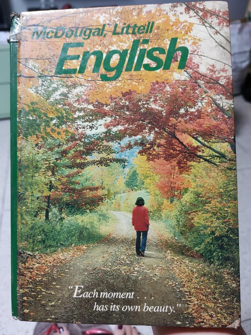 McDougal, Littell English (Grade 8/High School) by Glatthorn & Rosen (1990 ed.)