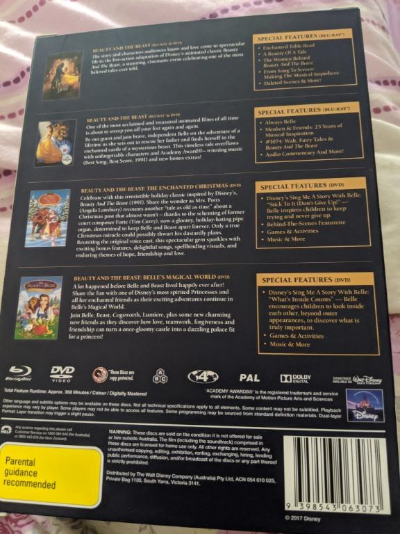 New Limited Edition Beauty & The Beast Dvd set not watched!!