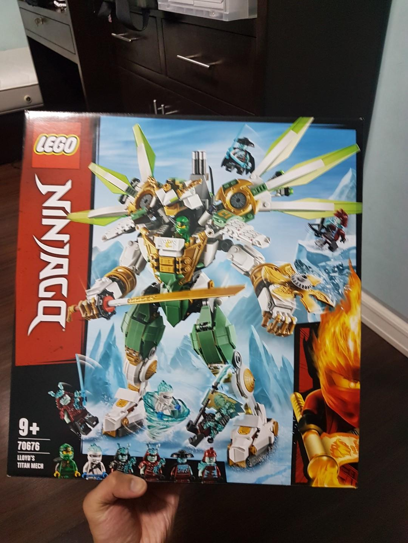 Ninjago Lloyds Titan Mech 70676 Toys Games Toys On Carousell