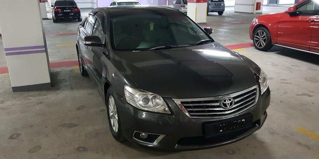 Perfect condition, Toyota Camry 2.0G model, Manufacture 2009, 80K mileage only, Test drive to believe.