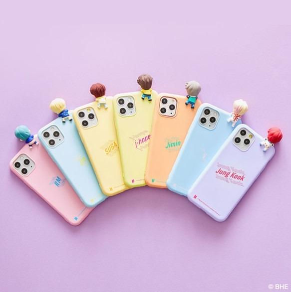 [PREORDER] OFFICIAL BTS CHARACTER FIGURE PHONE CASE & V-TOK