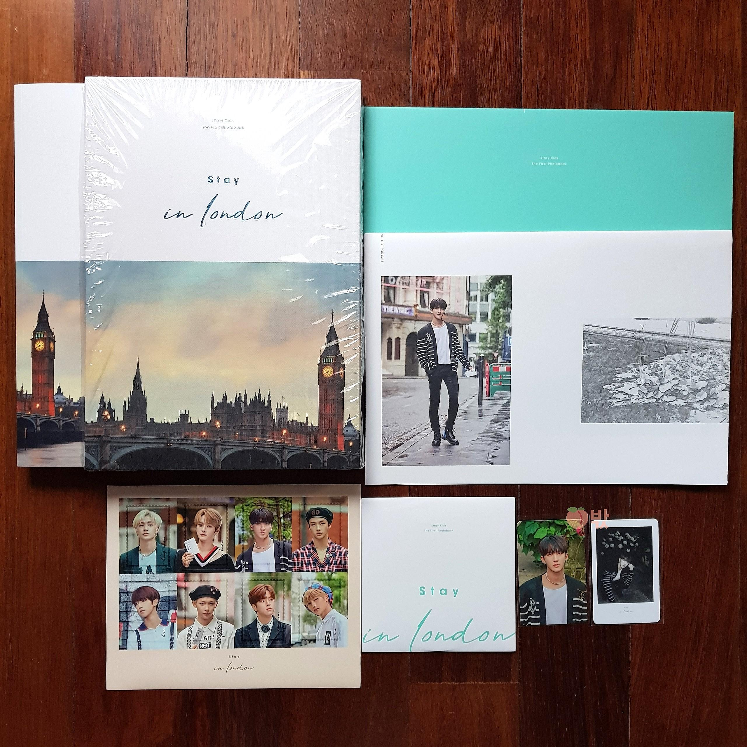 [Ready Stock] Stray Kids 1st Photobook 'Stay in London'