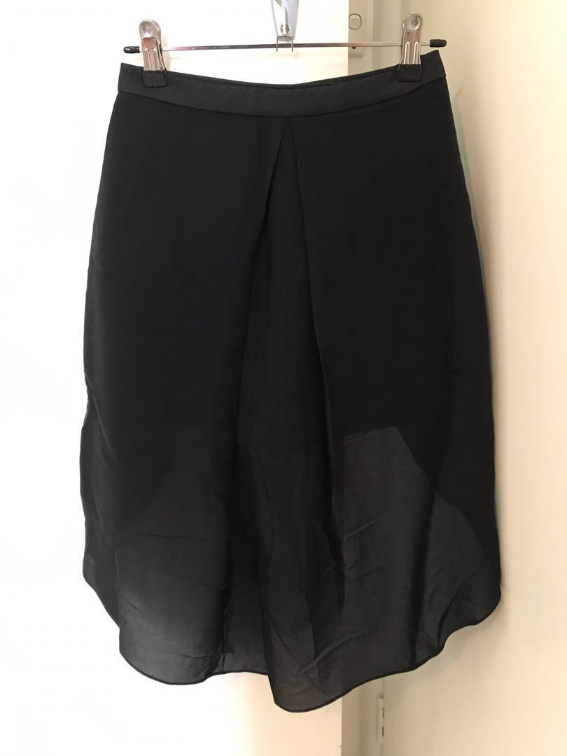 Brand New Sass and Bide The Whitest White Black Shorts size 6 /36 RRP$390