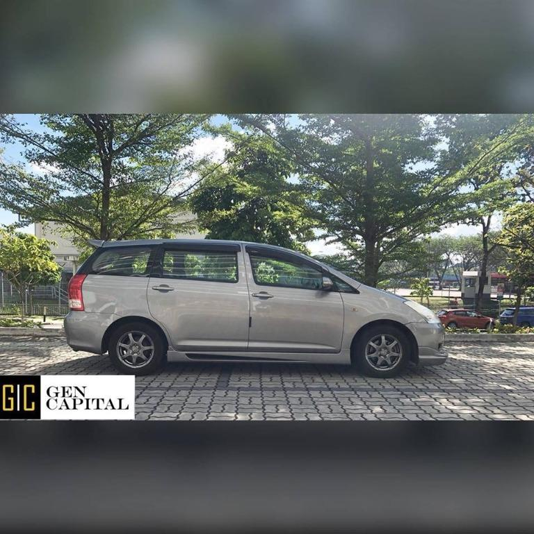 Toyota Wish @ Available for personal and PHV usage!