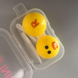 Cute contact lens cases with tools