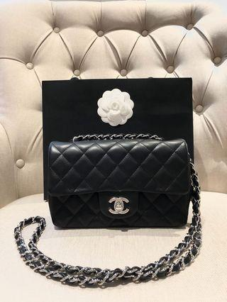 20C collection Chanel mini rectangle lambskin NEW