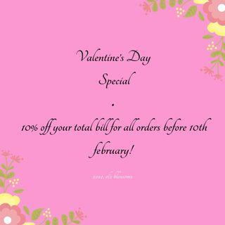 Flowers - Valentine's Day Special!