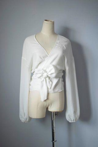 Wilfred 2 way wrap top
