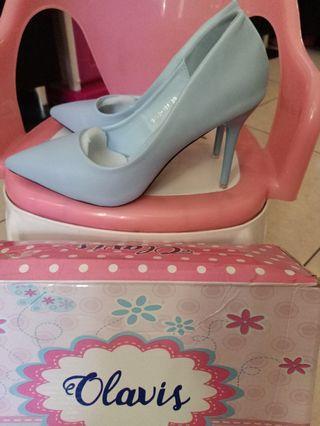 #makinhoki sepatu olavis 7cm