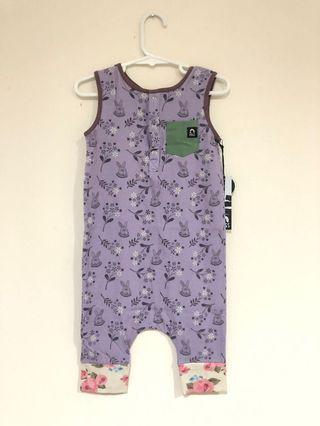 Bunny Rags to Raches Romper (2T)