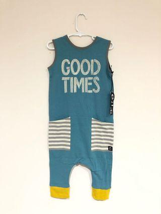 Good Times Rags to Raches Tank Romper