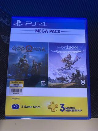 Ps4 Mega Pack God of War & Horizon