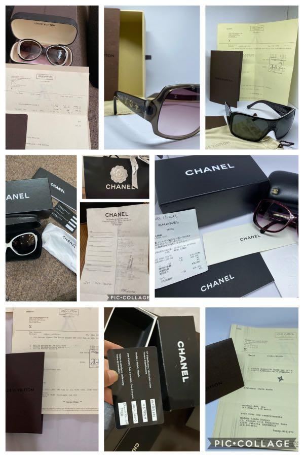 All Sold Out! Our Sunglasses is all authentic with Receipt from First Hand (from my mom / me)