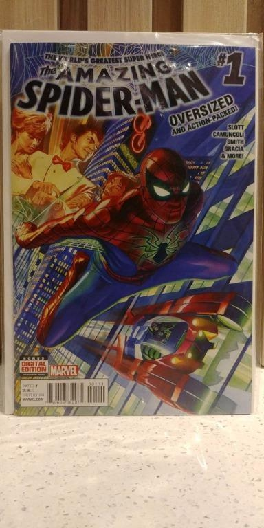 Amazing Spider-Man (2015 4th Series) # 1A Debut of Spider-Man MK IV armor