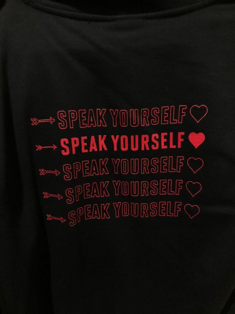 BTS zip-up hoody [love yourself speak yourself tour in London]