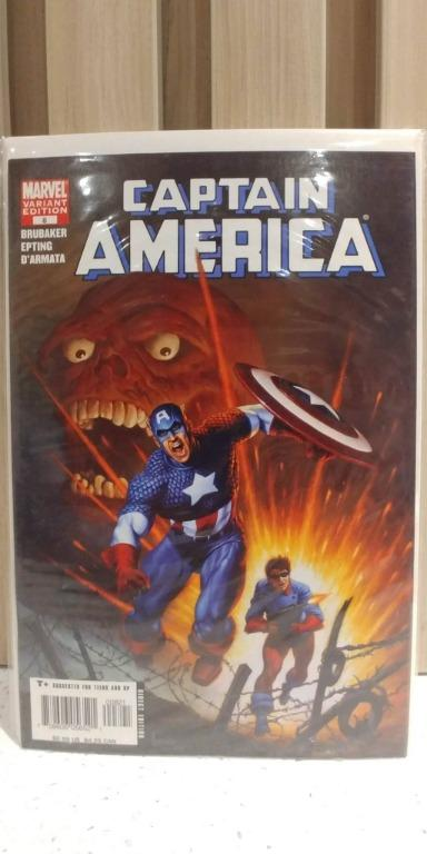 Captain America (2004 5th Series) # 8B 2nd full appearance of the WINTER SOLDIER. JOE JUSKO COVER