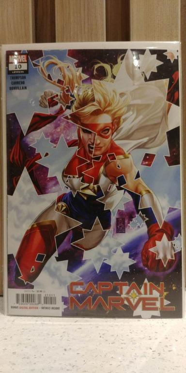 Captain Marvel (2018 11th Series) # 10A 1st battle of Captain Marvel vs Star
