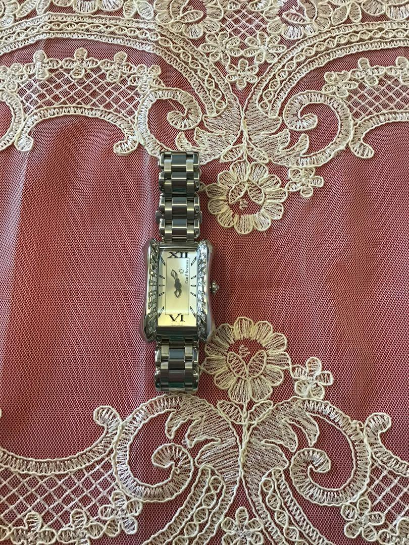 Carl F. Bucherer Alacria Diva Diamond Stainless Steel Ladies Watch 44 diamonds 0.6tcw like New