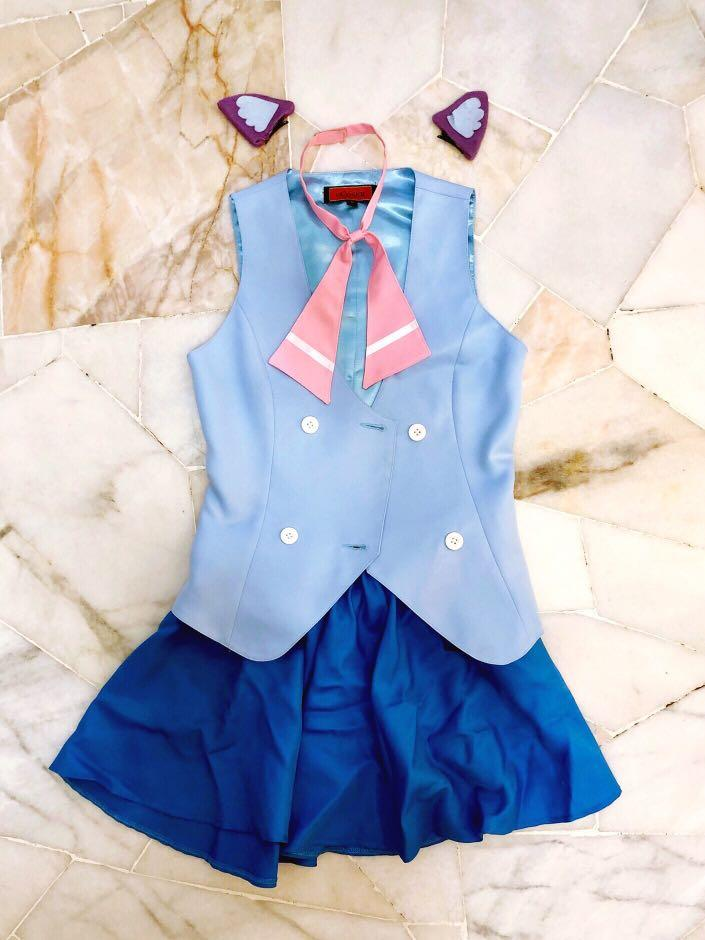 [Cosplay] Tsumiki Miniwa (Acchi Kocchi) Uniform Costume + Wig Set