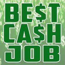 Daily paying cash part time job