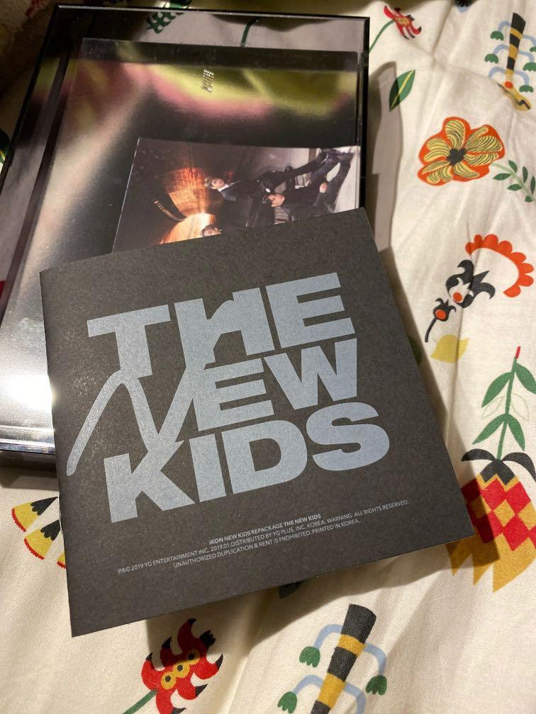 [REDUCED PRICE] IKON REPACKAGE ALBUM [THE NEW KIDS]