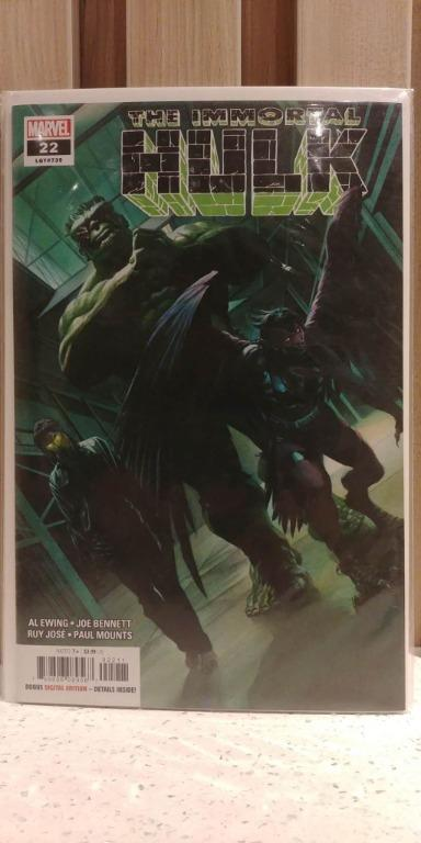 Immortal Hulk (2018) # 22A 1st full appearance of General Reginald Fortean in the Abomination shell