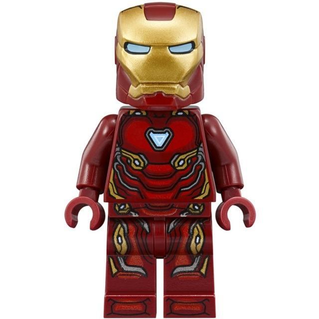 LEGO Super Heroes Iron Man Mark 50 Armor Minifigure SH496