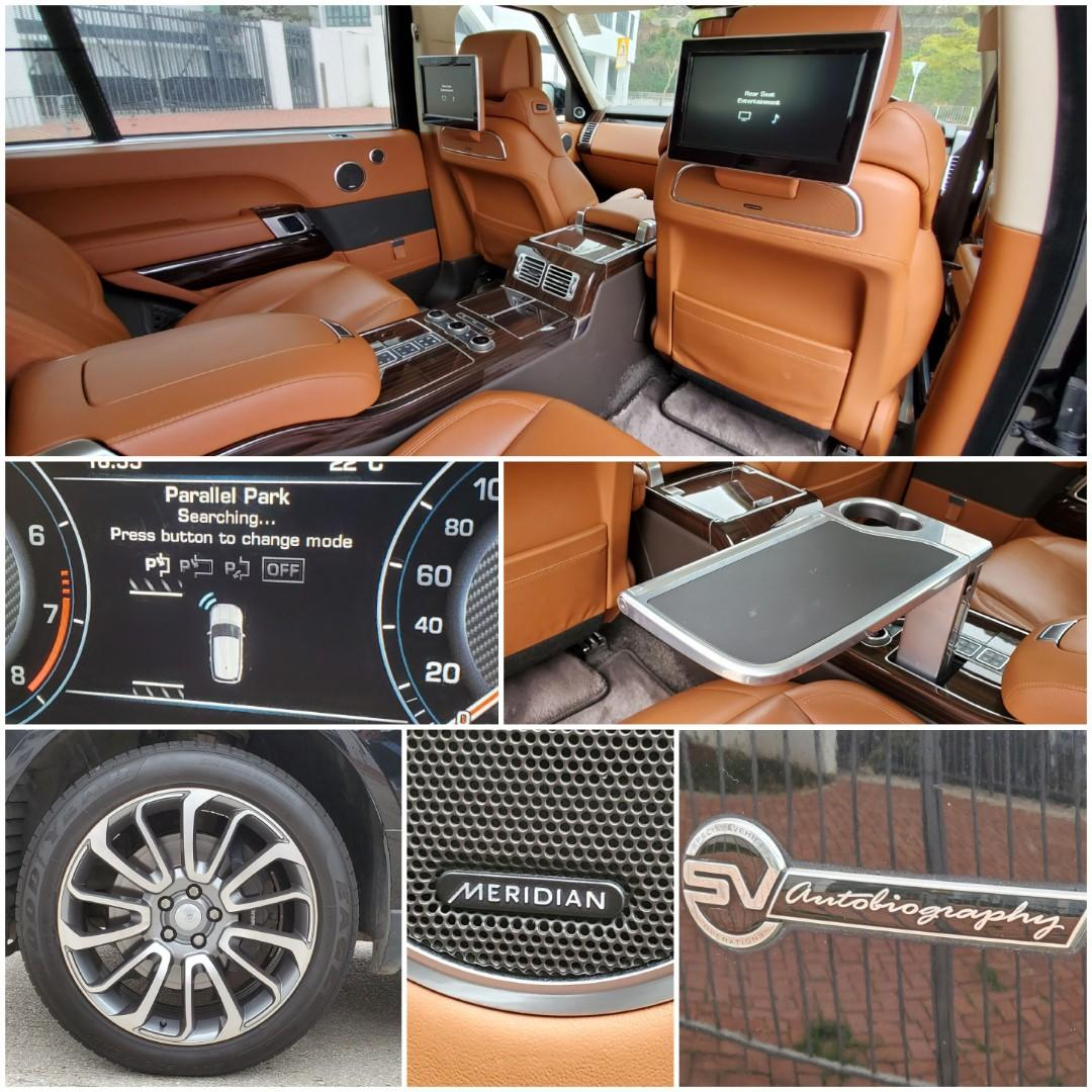 Land Rover Range Rover 5.0 SV biography Supercharged LWB Auto