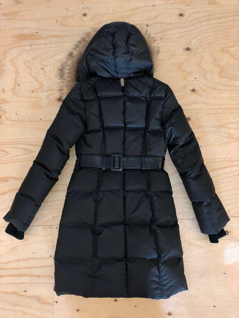 Mackage - Down Coat with signature natural fur collar - XS