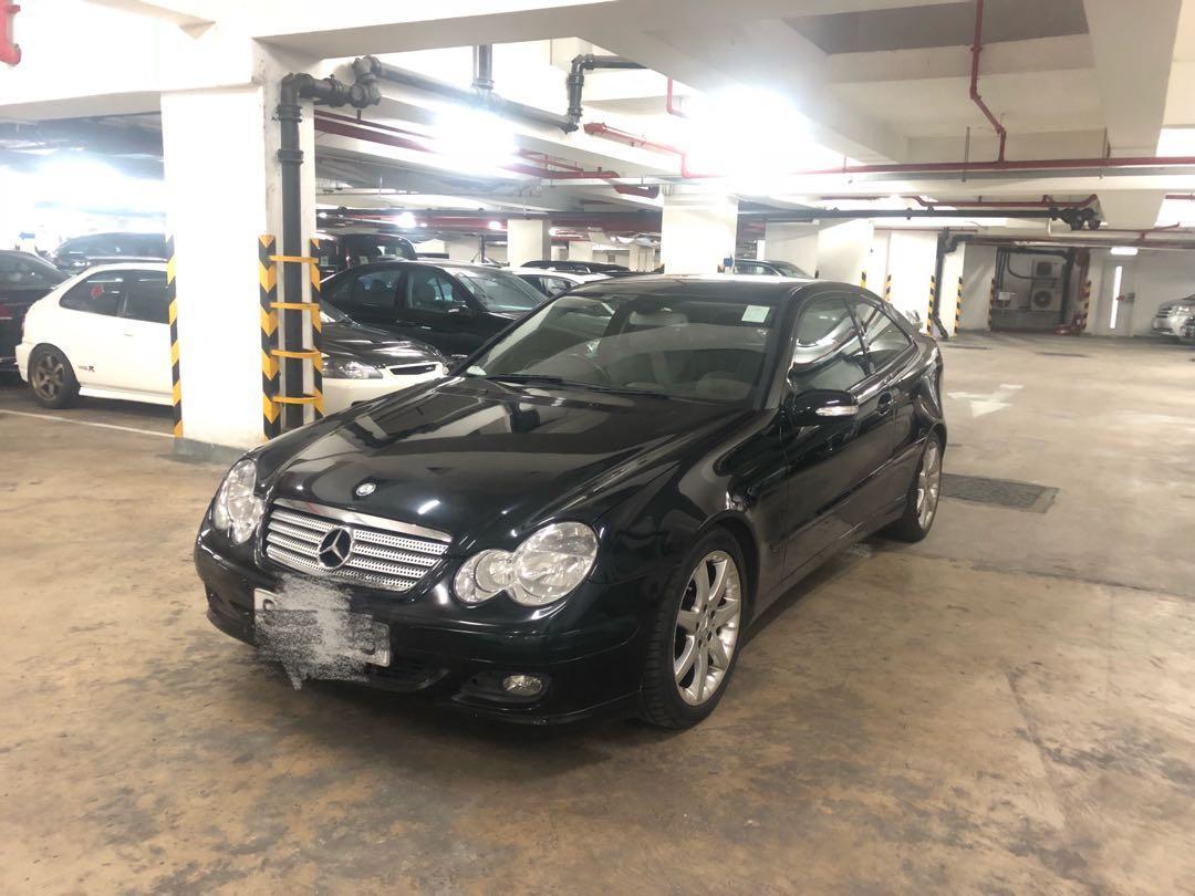 Mercedes-Benz c200 coupe c200coupe Auto