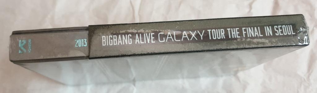 [NEW/SEALED] Big Bang - 2013 Big Bang Alive Galaxy Tour [The Final in Seoul] (DVD) (3-Disc) (Korea Version)