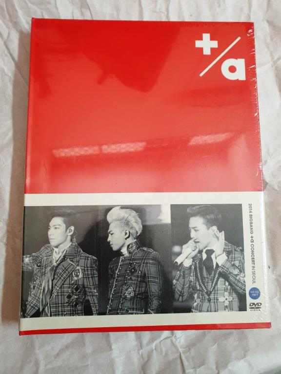 [New/Sealed] Official 2014 Big Bang + α Concert in Seoul Live (3DVD + Photobook) (Korea Version)